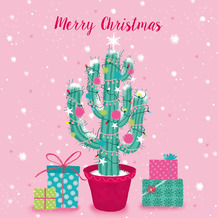 Paper+Design Servietten Tissue 33 x 33 cm Decorated cactus 20er Pack