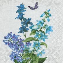 Paper+Design Servietten Tissue Blue summer 25 x 25 cm 20er