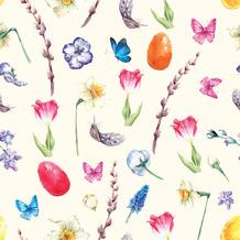 Paper+Design Servietten Tissue Easter galore 33 x 33 cm 20 Stück