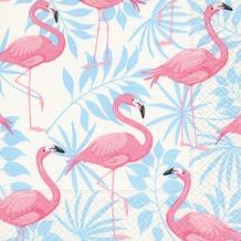 Paper+Design Servietten Tissue Flamingo garden 33 x 33 cm 20er