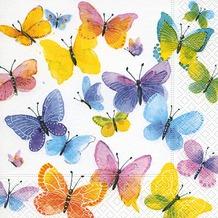 Paper+Design Servietten Tissue Flying colours 33 x 33 cm 20er