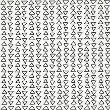 Paper+Design Servietten Tissue Hand drawn triangles 33 x 33 cm 20er