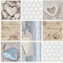 Paper+Design Servietten Tissue Pieces of memory 33 x 33 cm 20er