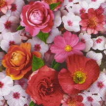 Paper+Design Servietten Tissue Sea of blossoms 33 x 33 cm 20er