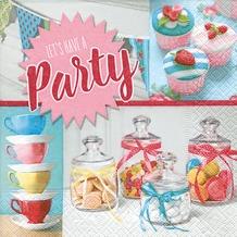 Paper+Design Servietten Tissue Sweet party 33 x 33 cm 20er