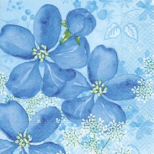 Paper+Design Servietten Tissue Tender flowers 33 x 33 cm 20er