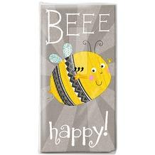 Paper+Design Taschentücher Tissue Beee happy 21,5 x 22 cm 10er