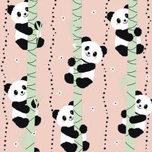 Paper+Design Tissue Servietten Climbing pandas 33 x 33 cm 20 Stück