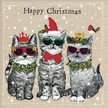 Paper+Design Tissue Servietten Happy Christmas 33 x 33 cm 20 Stück