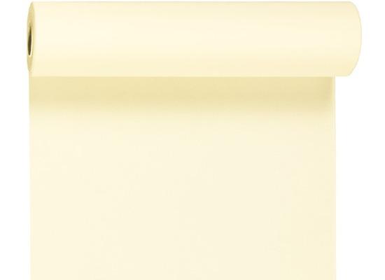 Duni Dunicel-Tischläufer 3 in 1, alle 40 cm perforiert, Uni champagne, 40 cm x 4,8 m