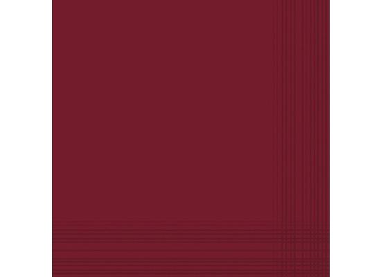 Duni Servietten aus Dunicel Maitre bordeaux, 41 x 41 cm, 50 Stück